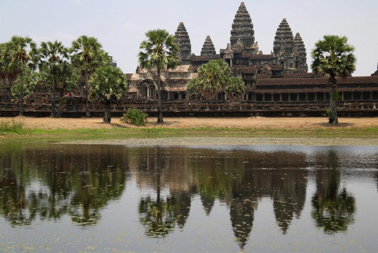 Angkor Wat leží pri meste Siem Reap