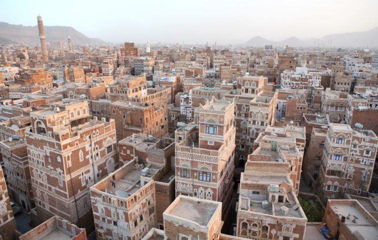Historické cesntrum mesta Saná