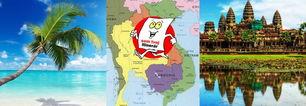 Vietnam a Kambodža za 600 eur