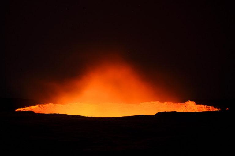 Najkatívnejšia sopka na svete Erta Ale