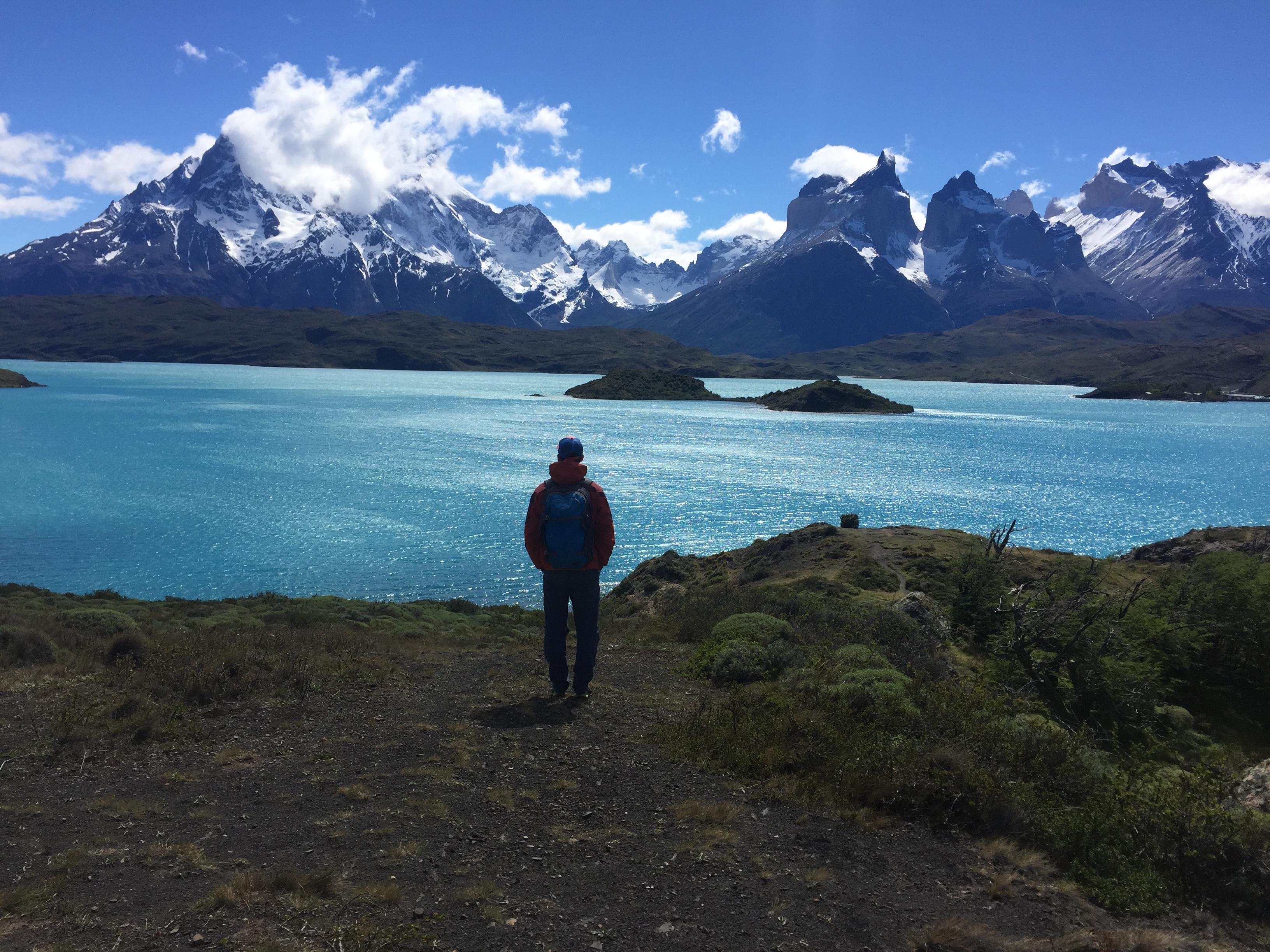 Pohľad na Torres del Paine v čilskej Patagónii