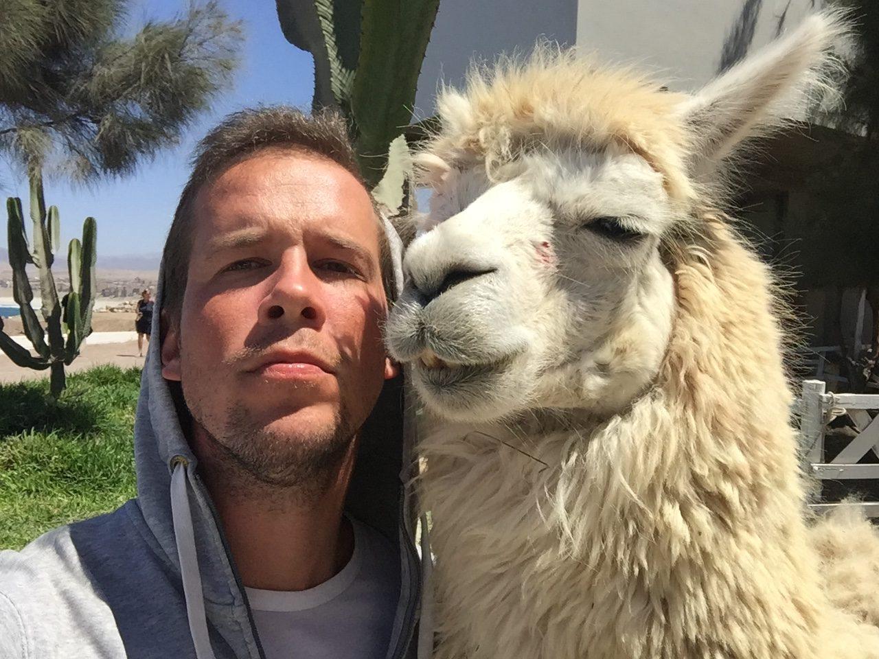 S kamarátkou v Peru