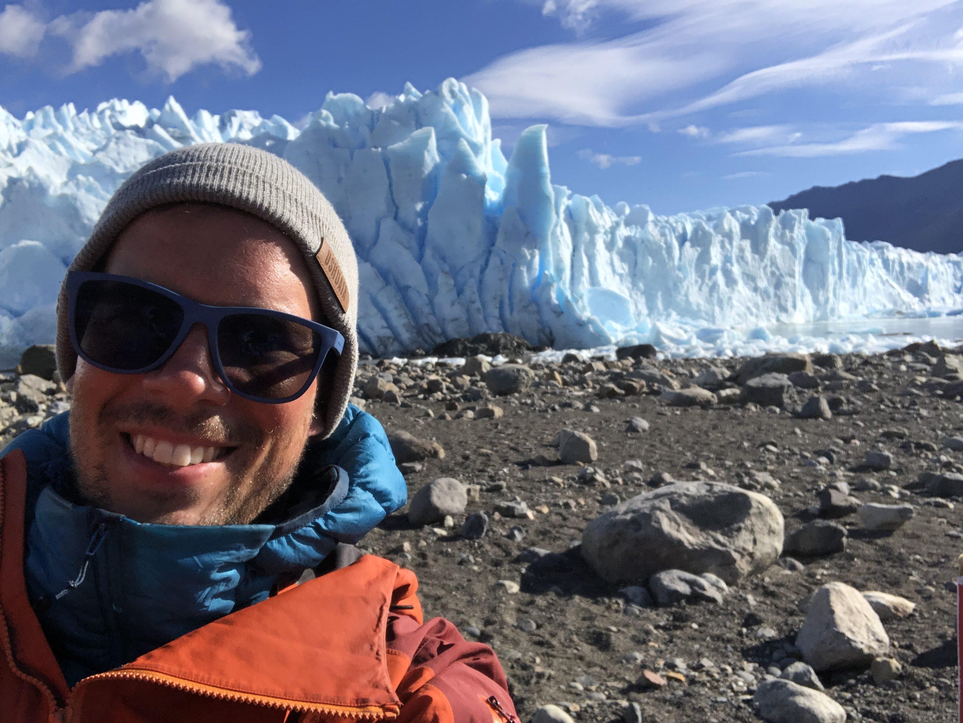 Ľadovec Perito Moreno v Argentíne