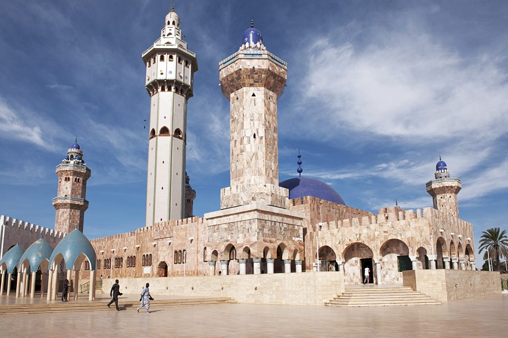 Mešita v Toube, Senegal