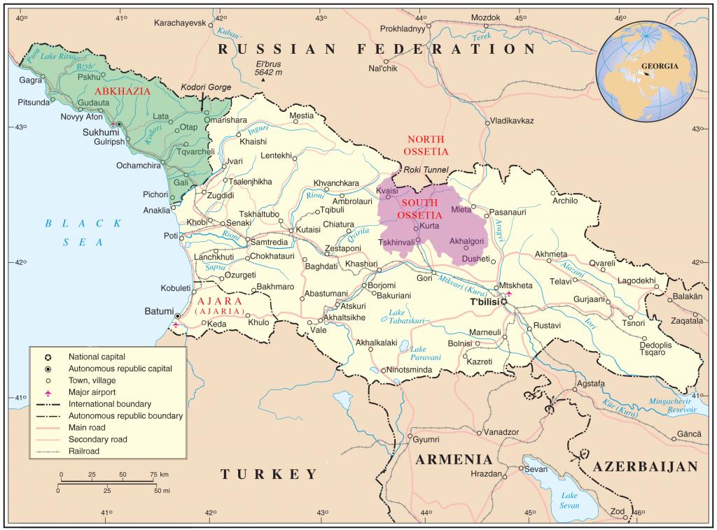 Ako sa dostať do neuznaných republík Kaukazu a na Krym