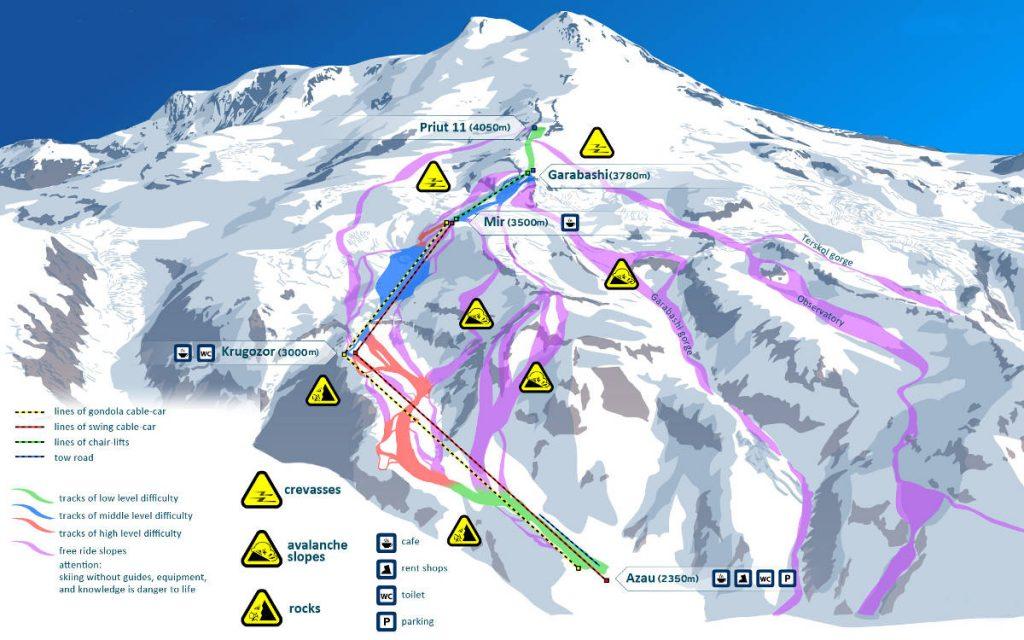 Elbrus - ako vystúpiť na najvyšší vrch Európy