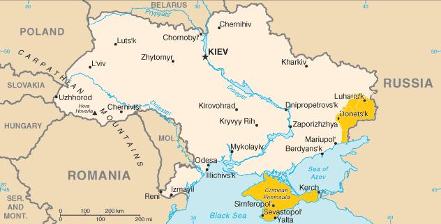 Ukrajina – cestovateľský itinerár, rady a rozpočet