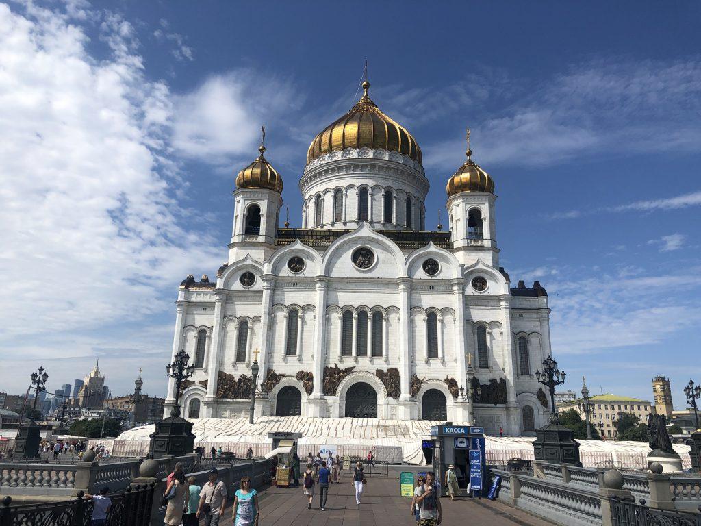 Top 10 Moskva - Chrám Krista Spasiteľa