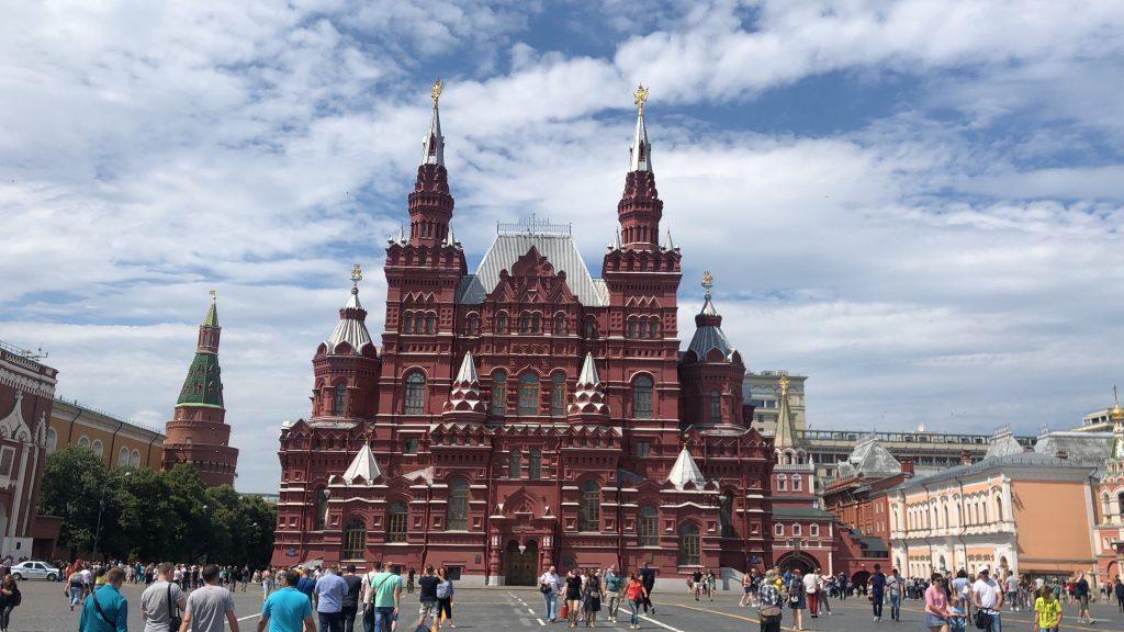 Top 10 Moskva - Červené námestie
