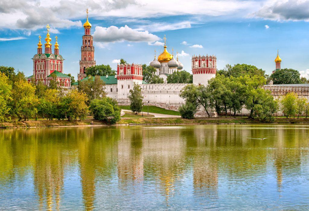 Top 10 Moskva - Kláštor Novodevichy