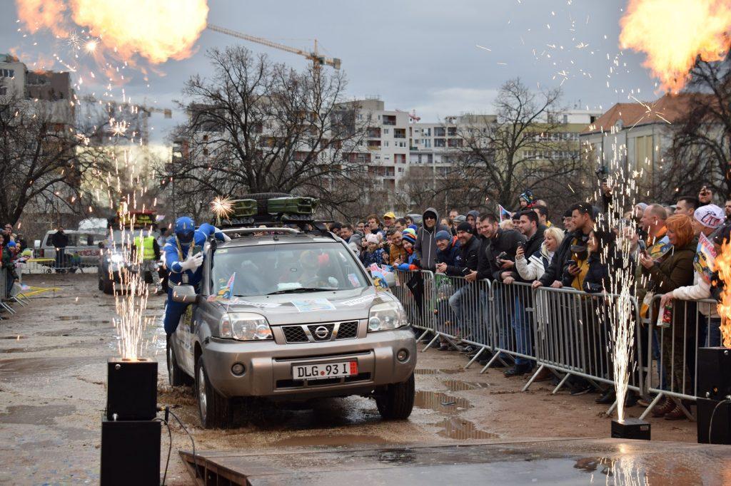 1.diel: Rally Budapešť - Sierra Leone