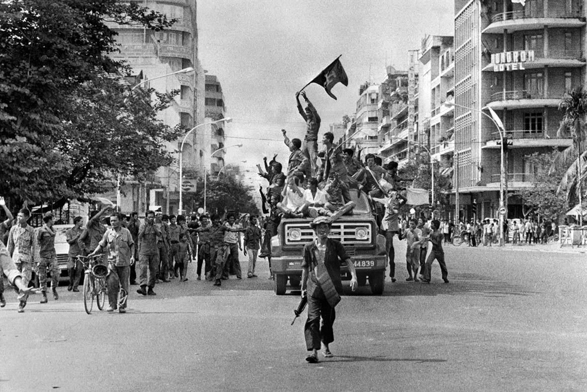 Kambodža za vlády Červených Kmérov 1975 - 1979