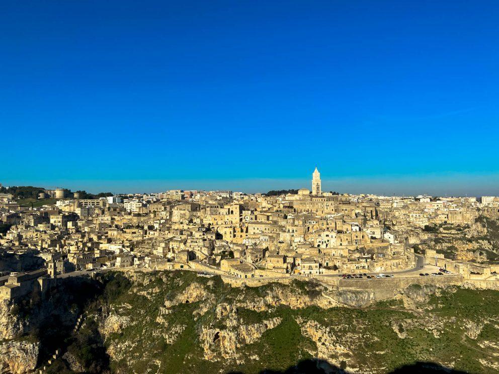 Mesto v skalách a Florencia na juhu Talianska