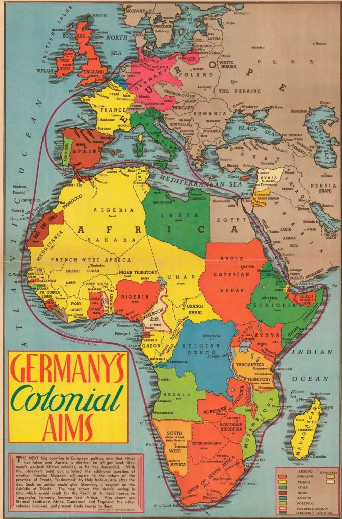 Ako Nemecko hľadalo  nový životný priestor v Afrike