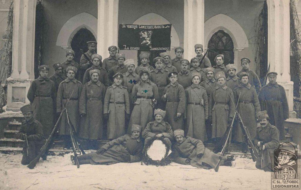 Transsibírska magistrála v rukách československých légií