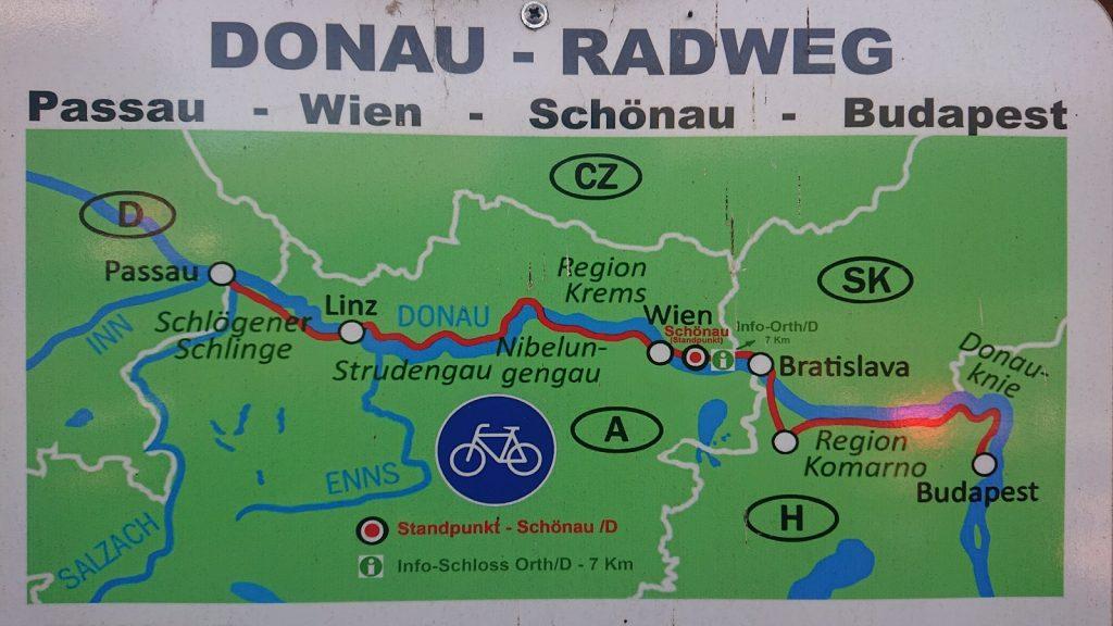 Passau – Bratislava na bicykli