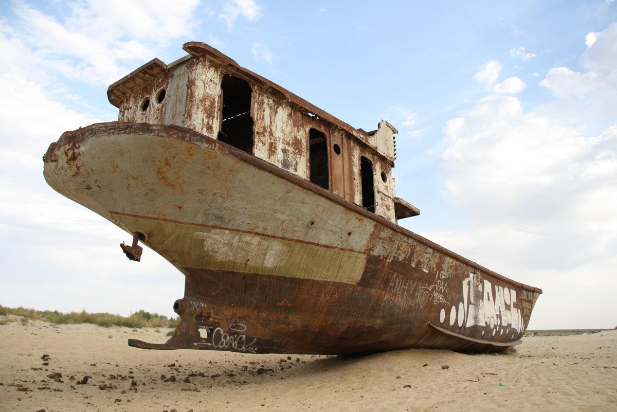 Aralské jazero - príbeh ľudskej hlúposti