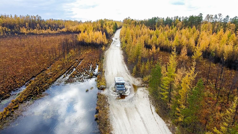 Autom cez málo známu Sibír