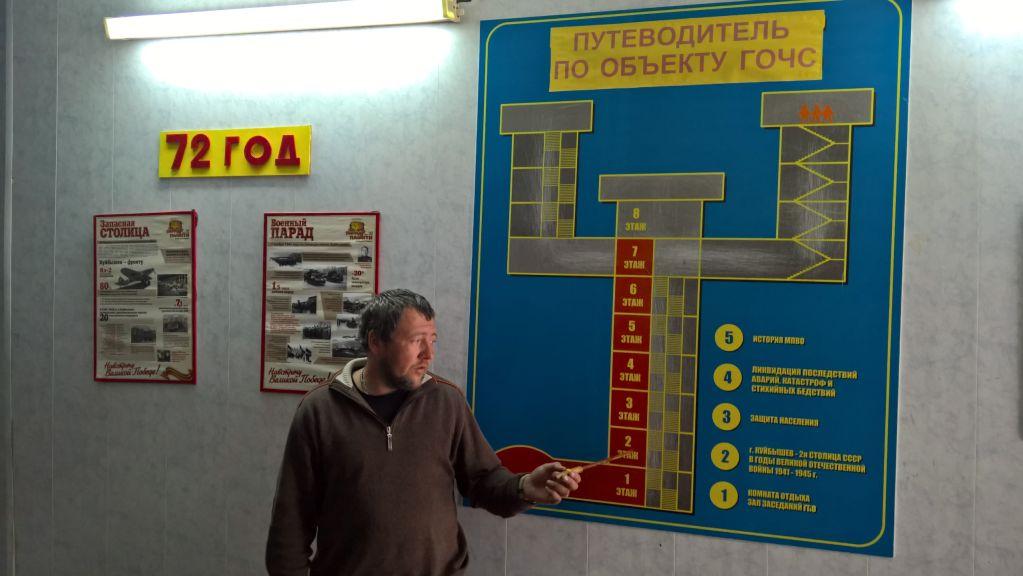 Tajný bunker Stalina v Samare