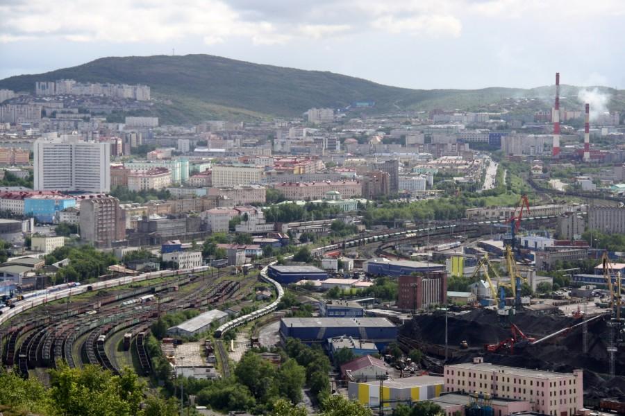 Murmansk - najväčšie ruské mesto za polárnym kruhom