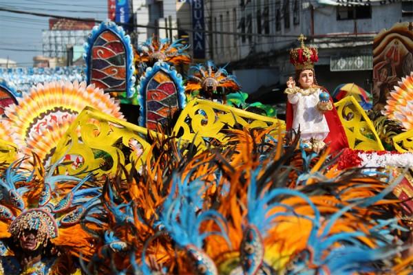 Strhujúci festival na Filipínach