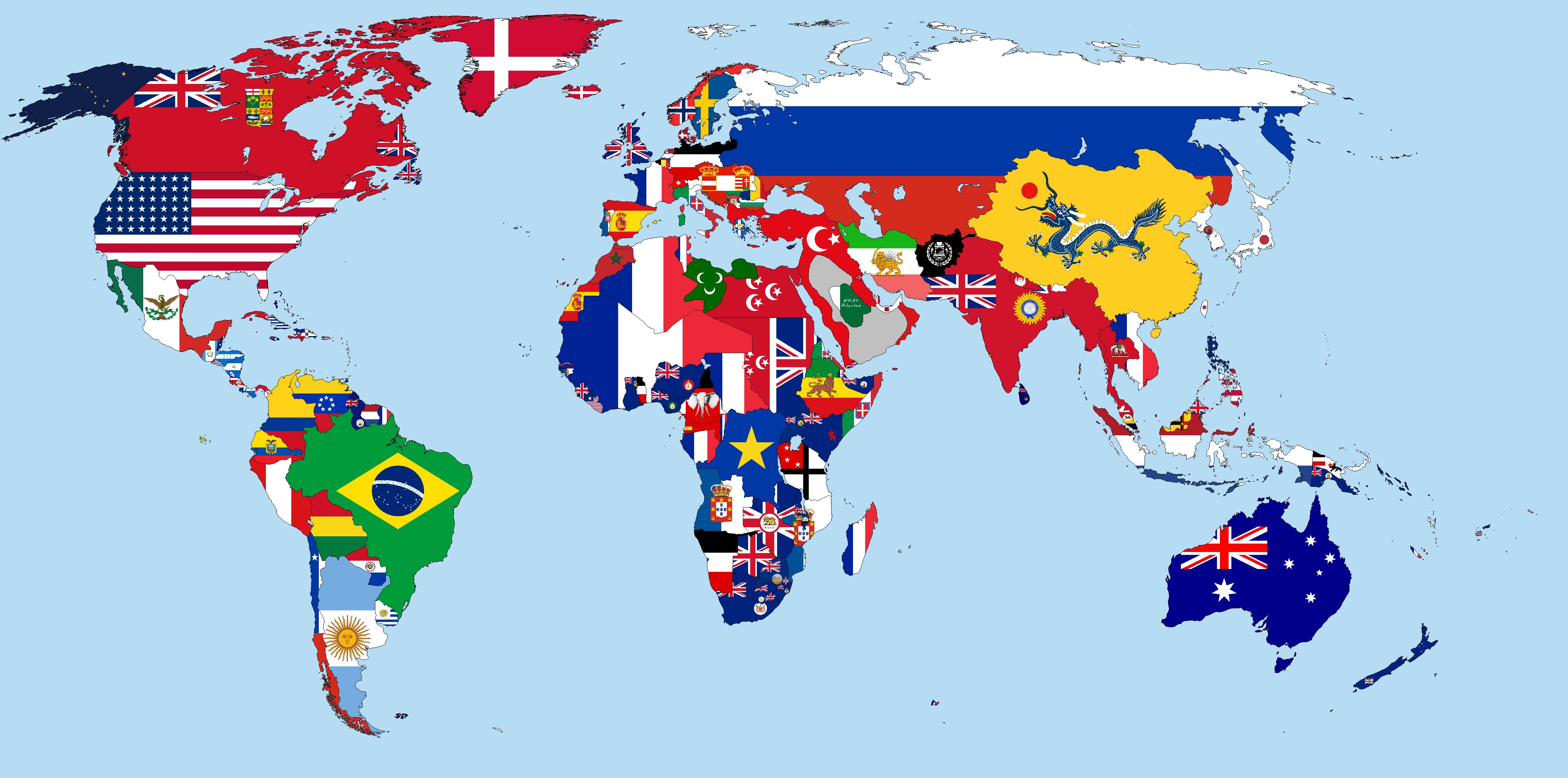 Zaujímavosti o vlajkách sveta