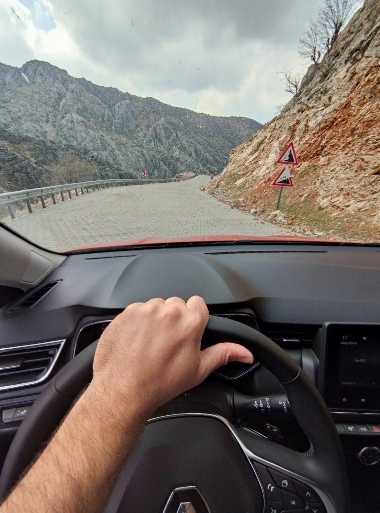 Šoférovanie v Turecku