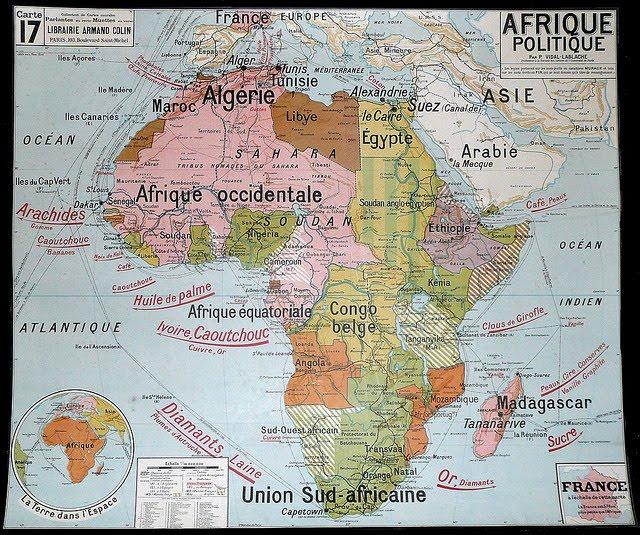 Úvod do Afriky - krátka história