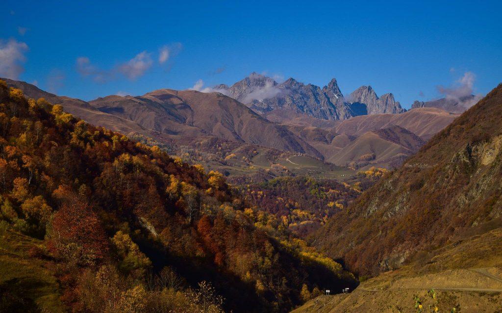 Gruzínsko - prehľad turistických trekov