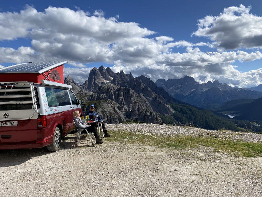 Parchegio Tre Cime, Dolomity