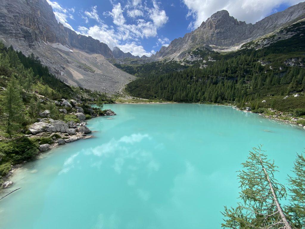 lago di sorapis - dolomity
