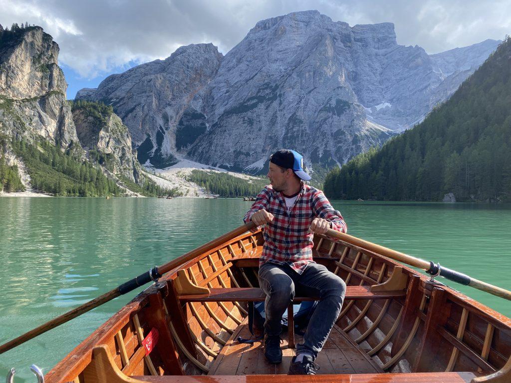 lago di braies - dolomity