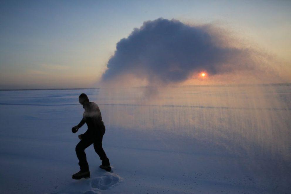 Zima ako u Mrázika. Na ruskú zimu neplatí ani vodka